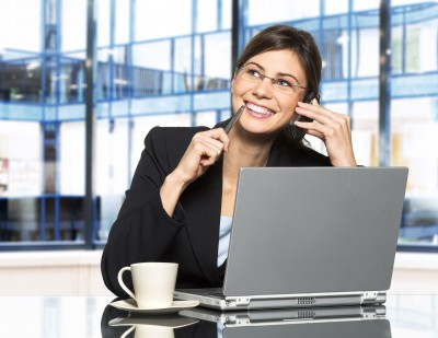 Woman in eCommerce