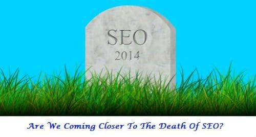 SEO, online marketing, death of SEO