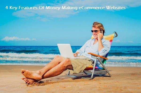 eCommerce website, online store
