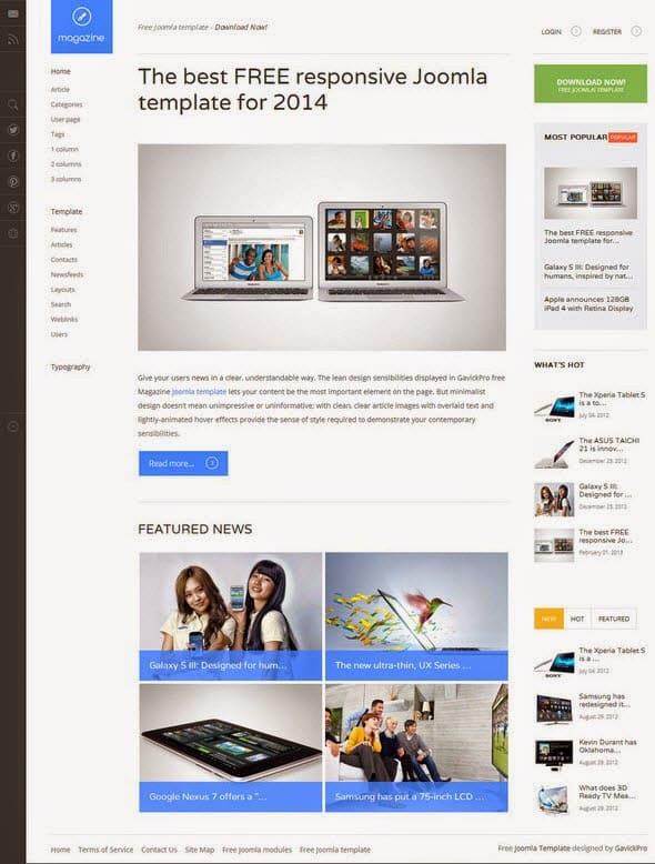 magazine-joomla-template