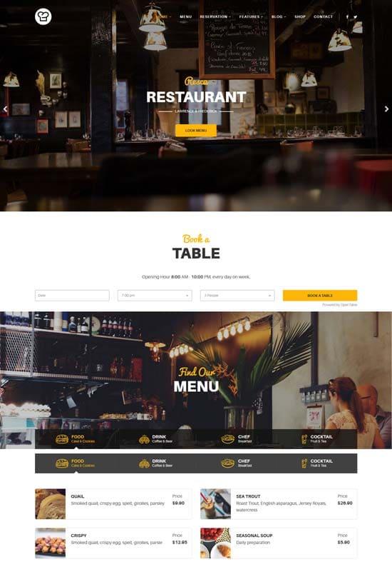 resca-joomla-restaurant