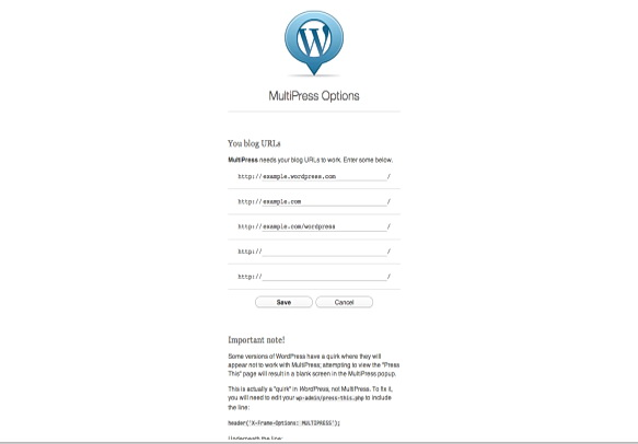 Chrome Extensions - MultiPress