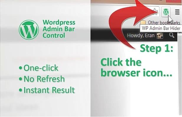 Chrome Extensions - WordPress Admin Bar Control