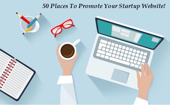 website, startup website, promote your website, promote startup website