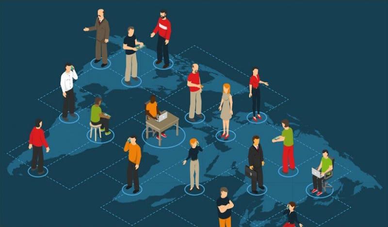 remote teams, online collaboration