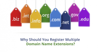 domain name, domain name extensions, multiple domain name extensions