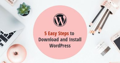 5 Simple Steps to Download and Install WordPress