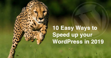 10 Easy Ways to Speed up your WordPress in 2019