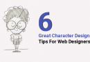 6 Great Character Design Tips For Web Designers