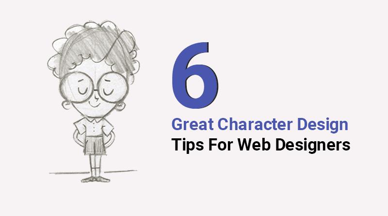 web design, character design