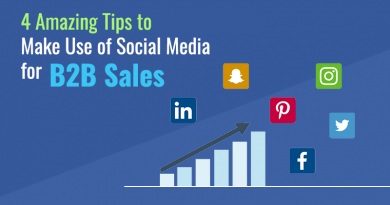 4 Amazing Tips to Make Use of Social Media for B2B Sales