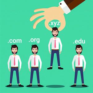 choose .xyz domain