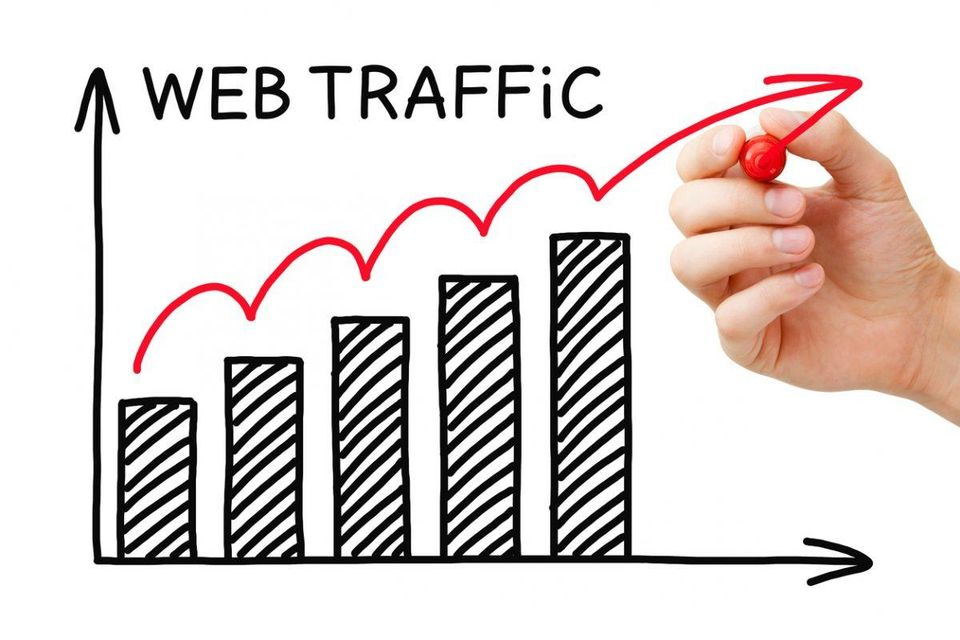 organic traffic, new website