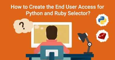 How to Create the End User Access for Python and Ruby Selector?