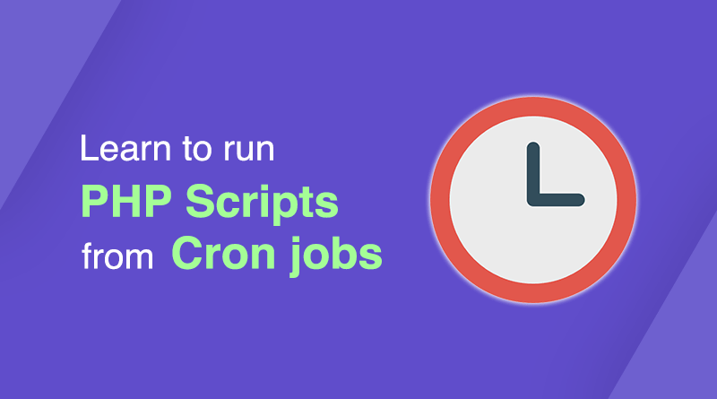 PHP script from Cron jobs