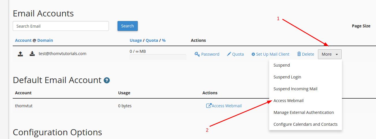 access webmail 3