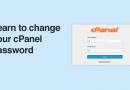 Learn to change your cPanel password