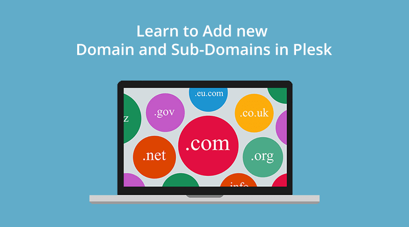 Domain and subdomains in Plesk
