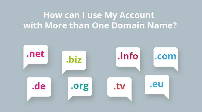 Multiple Domain Names
