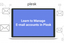 Learn to Manage E-mail accounts in Plesk