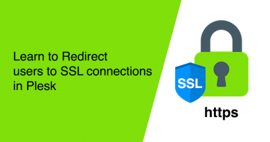 Learn to Redirect users to SSL connections in Plesk