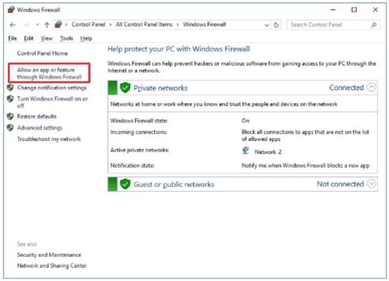 FTP firewall 1
