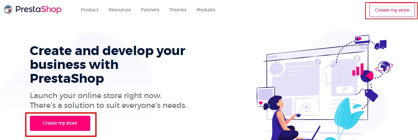 Create my store