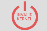 Invalid kernel, or some kernel modules are not loaded